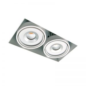 4.Nova Trimless twin downlight 2x9w