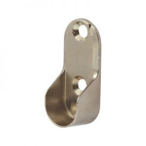2.Wardrobe rail end supports incl screws & cap