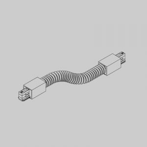 Flexible track connector