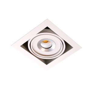 1. Nova Trim single downlight LED 1x9w