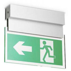 LED Emergency Ceiling Hanging Sign