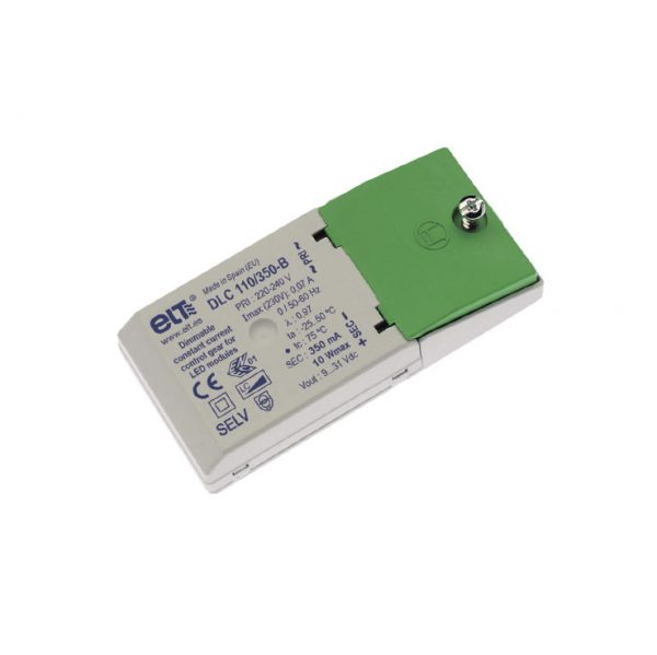 10w 350mA 9-31vf ELT dimmable driver
