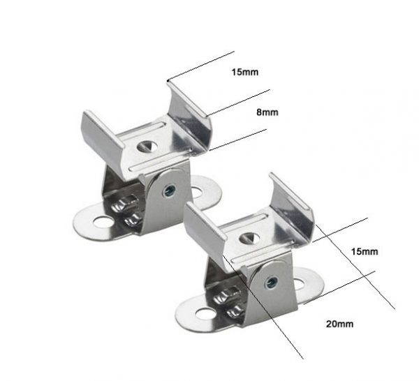 Adjustable clips for Profile 13