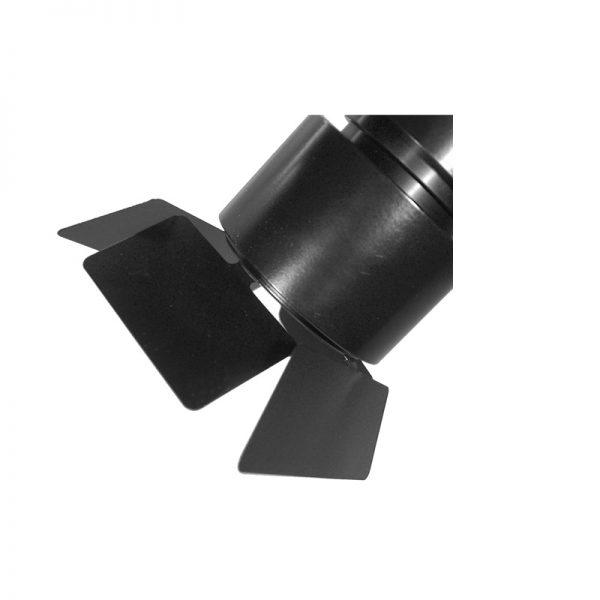 Barndoor for 70mm Kuper Black