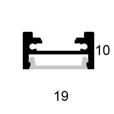 Corner bracket 45 deg plastic