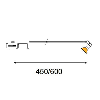 Expo Clamp 50w stem light