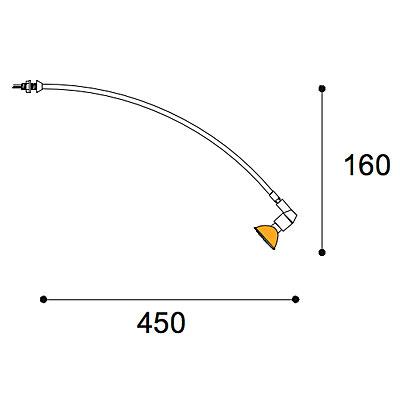 Expo Curve 50w stem light