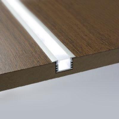 Niche LED recessed profile