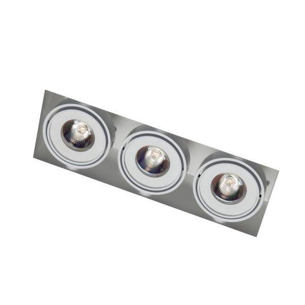 Nova Triple 3x8w trimless downlight
