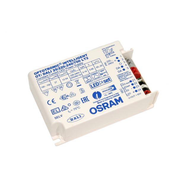 Osram 25w DALI driver 180-700ma 12-54v