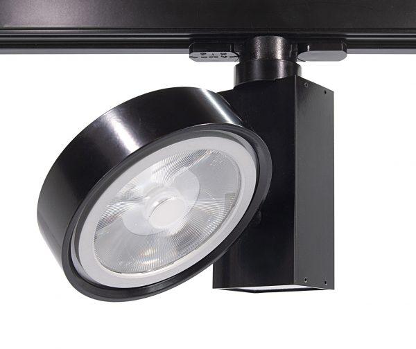 Scenic track 60w spotlight with sidebox