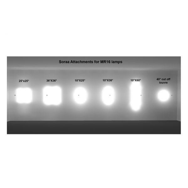 Soraa 7.5w LED GU10 3000˚K 95cri 10˚