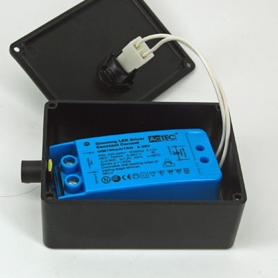 Transformer driver box 110x80x45mm