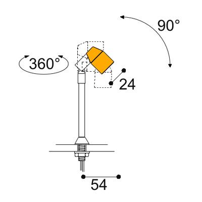 Vitro 2.4w stem light