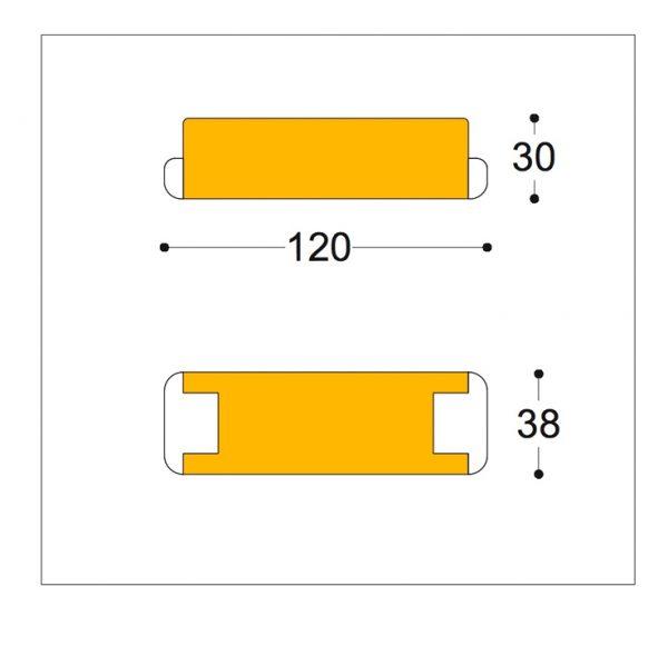 12v AC 0-105va dimmable transformer