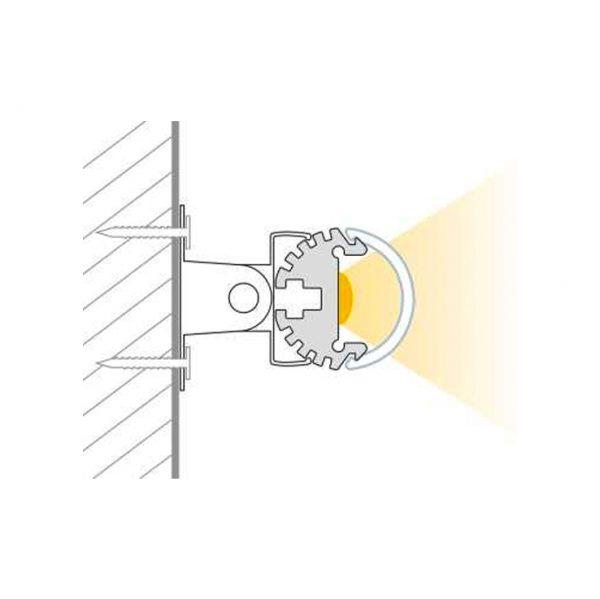 Pino Round LED Strip extrusion