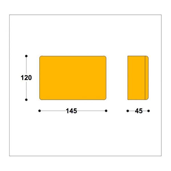 Driver or Transformer box 145x95x45mm