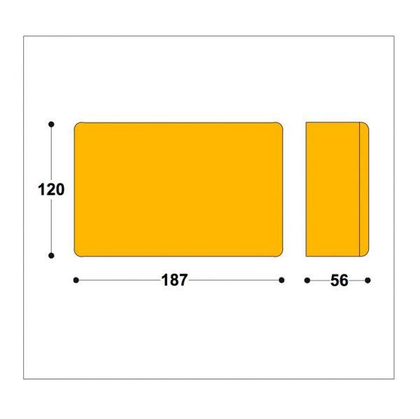 Driver Transformer box 187x120x56mm