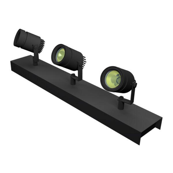 Wall mount Kuper Bar3 600mm - 800mm