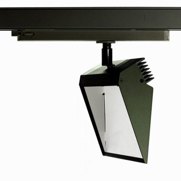 Edge Track Light 25w Asymmetrical Wallwasher
